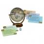 Globo anticato (diametro 10cm)